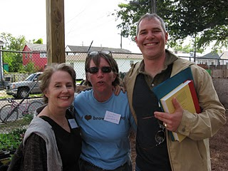 The founder of SF USA, me and RMC at the Edible Schoolyard New Orleans first fundraiser.