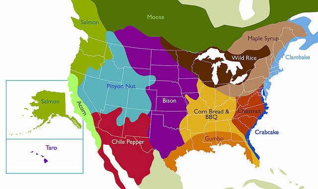 Book Reviews Helping Public Markets Grow - Map of us bioregions ancient food traditions