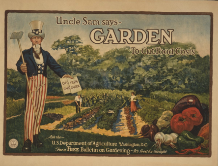 WW 2 Victory Garden poster