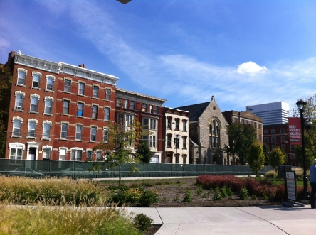 Lovely Over-the-Rhine neighborhood in Cincinnati, the largest collection of Italianate buildings in the US.