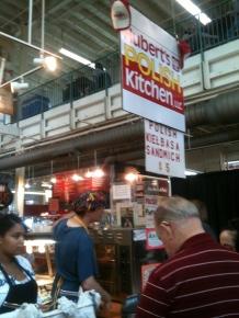 Polish food vendor at North Market