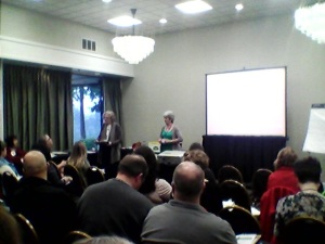 The WSFMA market bootcamp run by WSFMA board member Ann Foster and WSFMA staff member Jennifer Brown,